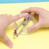 レザークラフトで革をきれいな円形に切る方法