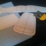 レザークラフト初心者のリュック作成_型紙設計工程の紹介