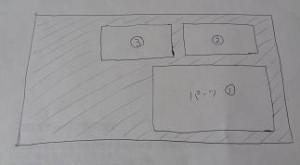 型紙の設計1_レザークラフト
