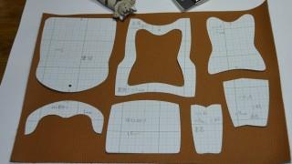 レザークラフト型紙を自分で設計する方法と注意点