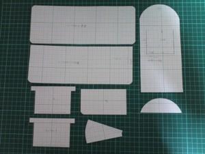 型紙の設計2_レザークラフト