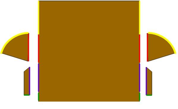 レザークラフト作品_ペンケース製作過程_穴あけ位置