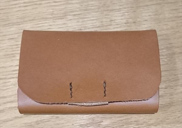 【レザークラフト】おしゃれな名刺入れの作り方6