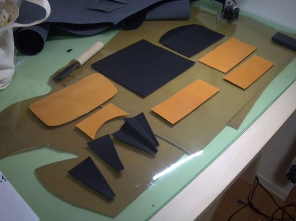 【レザークラフト】有料型紙で長財布を作ってみた
