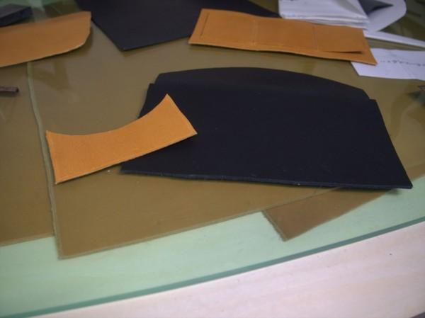 【レザークラフト】有料型紙で長財布を作ってみた6