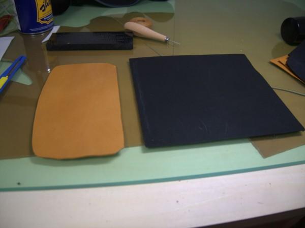 【レザークラフト】有料型紙で長財布を作ってみた4