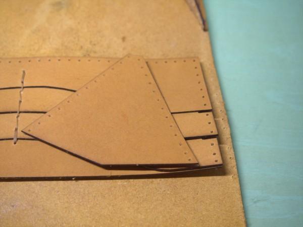 【レザークラフト】レーザー加工機で長財布作り9