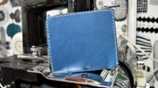 L字ファスナーの小型財布(有料型紙を利用)の作品紹介