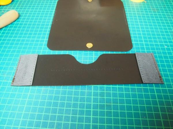 [レザークラフト]革の領収書入れの作り方 (12)_R