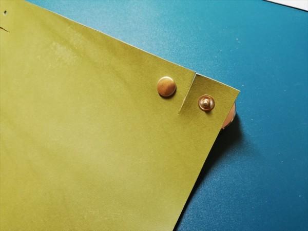 レザークラフト無料ダウンロード型紙革のトレーの作り方-9